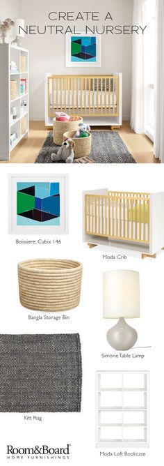 Learn how to create a neutral nursery with our modern kids and nursery furniture, made by families, for families.