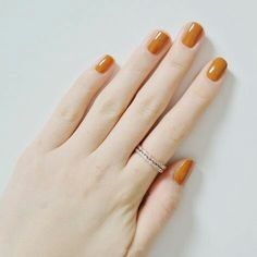 Simple Nail Art Designs That You Can Do Yourself – Your Beautiful Nails Cute Nail Polish, Nail Polish Colors, Cute Nails, Pretty Nails, Color Nails, Orange Nail Polish, Yellow Nails, Hair And Nails, My Nails