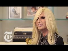 Donatella Versace Interview | In The Studio | The New York Times - YouTube