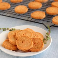 """Kid Cultivation: Parmesan & Thyme """"Cookies"""""""