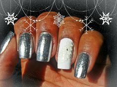 Que tal conferir a minha nail art de Ano Novo? Venham ver: