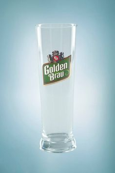 beer glass, golden brau, beer