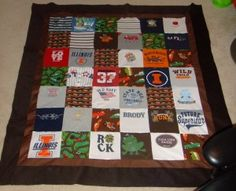 Onesie quilt ~ a quilt made from your favourite onesies. Definitely doing this when I'm doing having children.