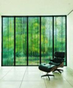 green screen for large windows and glass wall design
