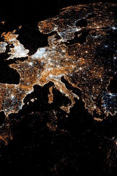 ♥ Europe at Night