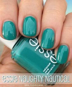 Just painted my nails this color <3  Essie Naughty Nautical  Free E-book  http://pinterestperfection.gr8.com/