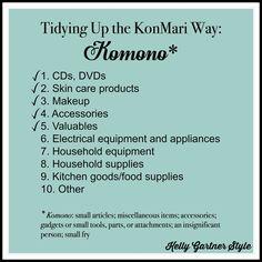 Tidying Up the KonMari Way: Halfway There, Part 2