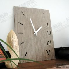 wooden clock | Wooden Clock Promotion-Online Shopping for Promotional Wooden Clock on ...