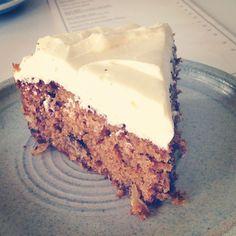 Carrot cake | http://hungryforhealthyfood.com/carrot-cake/