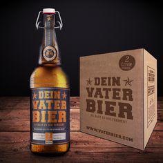 happy father's Day + father beer + vatertag + geschenk geburt + geschenk vater + vaterbier