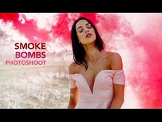 Smoke Bombs Natural Light Photoshoot - 50mm 1.4 - YouTube