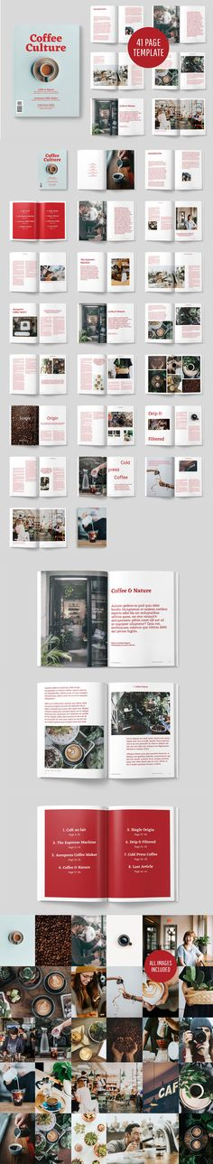 #Freebies : A modern, minimal, #magazine, folio or #brochure #InDesign template. All Images are included and unlicensed. A4 AND US LETTER TEMPLATES INCLUDED ( #print #branding #photography #hipster )