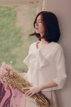 【Milkcocoa】尹善英 Beautiful Asian Girls, Beautiful Models, Beautiful People, Girl Short Hair, Short Hair Cuts, Short Hair Styles, Asian Fashion, Girl Fashion, Yoon Sun Young