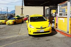 Well maintained Yellow Cabs ready to give you a jump start 24 7
