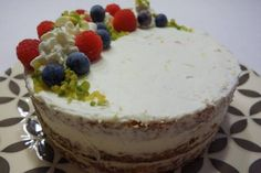 Mascarponés citromtorta Cheesecake, Food, Cakes, Sweet Recipes, Mascarpone, Cake Makers, Cheesecakes, Essen, Kuchen