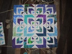 Beautiful quilt From Erica Thompson Tripp