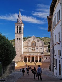 il Duomo di Spoleto - Perugia, Umbria, Italy