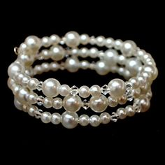 Pearl and Crystal Bracelet                                                                                                                                                                                 More
