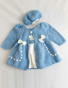 Maggie's Crochet · Bon Bon Dress & Jacket Set Crochet Pattern ༺✿ƬⱤღ http://www.pinterest.com/teretegui/✿༻