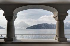 Der Vierwaldstättersee, gesehen vom Park Hotel Vitznau aus Das Hotel, Stunning View, Luxury Living, Park, Airplane View, Travel, Switzerland, Hotels, Voyage
