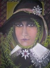 Oil painting by Canadian artist Maria Valverde Boutilier