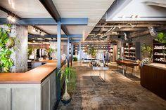 ビオトープ大阪店が南堀江にオープン - コーヒースタンドや緑溢れる屋上レストランもの写真6 Coffee Stands, Pergola, Outdoor Structures, Outdoor Decor, Flyers, Design, Home Decor, Style, Swag