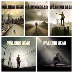 The Walking Dead Season Posters #TWD