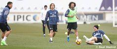 Marcelo y Modric volvieron con el grupo