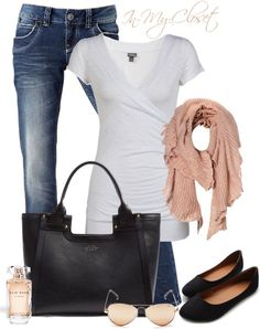 """""""Casual - #5"""" by in-my-closet on Polyvore @Tina Hanson mom you should look at this pinners outfits you might like them :)"""