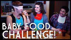 We did the baby food challenge! Things just got crazy xD