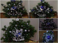 praktická žena: Dekorace na Vánoce Hanukkah, Wreaths, Home Decor, Decoration Home, Door Wreaths, Room Decor, Deco Mesh Wreaths, Home Interior Design, Floral Arrangements