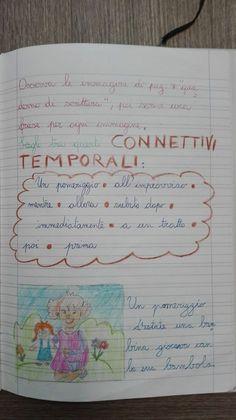 Classe Terza- Italiano- Maggio-Laboratorio di scrittura: i connettivi - Maestra Anita