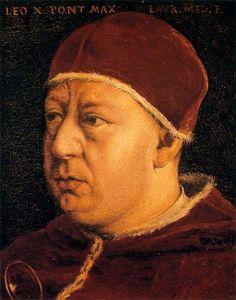 Pope Leo X, c.1560 - Bronzino