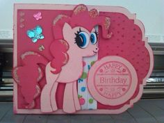 Pinkie Pie using cut file from SVG Cuts