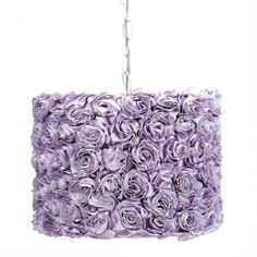 Lavender Rose Hanging Pendant - 78000-4712 | 20, Hanging Pendant, Lighting - Sweet and Sour Kids