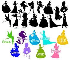 Personnalisé Disney Princesse inspiré par babystrawberries sur Etsy