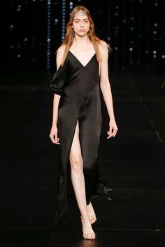 Saint Laurent Spring 2016 Ready-to-Wear Fashion Show - Odette Pavlova (Next).  beautiful slip dresses.