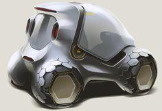 """Smart """"341 parkour""""  #conceptcar"""