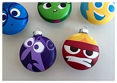Inside Out Ornaments