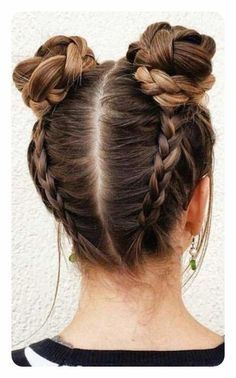Cute Hairstyles With Braids Collection 135 cute and easy hairstyles to do when youre running late Cute Hairstyles With Braids. Here is Cute Hairstyles With Braids Collection for you. Cute Hairstyles With Braids 39 cute braided hairstyles you cannot. Cool Hairstyles For Girls, Everyday Hairstyles, Bun Hairstyles With Braids, Stylish Hairstyles, Beautiful Hairstyles, Wedding Hairstyles, Cute Braided Hairstyles, Teenage Hairstyles, Quinceanera Hairstyles