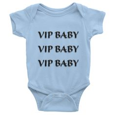 VIPBABY Infant short sleeve one-piece (BLACK)