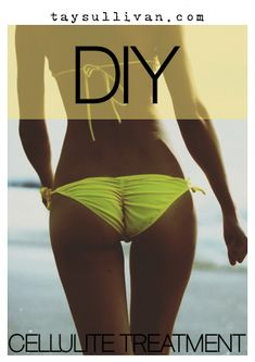 La Belle Vie: Do It Yourself Cellulite Treatment