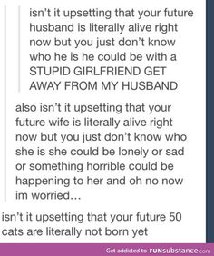 Tumblr gets realistic.  That last line though.