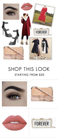 """My Style"" by buykud ❤ liked on Polyvore featuring Chloé, Lime Crime, Kate Spade and Giuseppe Zanotti"