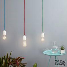 Simple Ceramic Lights