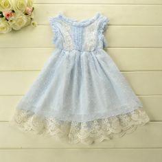 Image of Blue Jasmine Dress