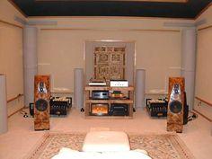 Music listening room   Warner Home Group, #Nashville www.warnerhomegroup.com 615.778.1818
