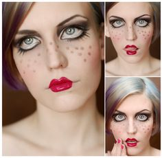 Doll. by ~catchDEVIANT Doll Makeup