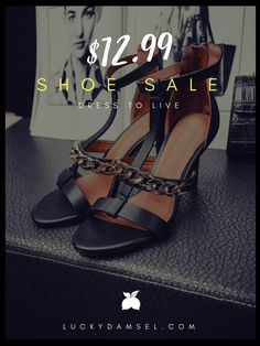 Our new Shoe Collection just launched. Premium leather heels, sandals, wedges and flats!