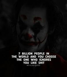 Actually she's only the biggest shit. I have in my heart just wanna. Heath Ledger Joker Quotes, Best Joker Quotes, Badass Quotes, Joker Qoutes, Reality Quotes, Mood Quotes, Attitude Quotes, True Quotes, Psycho Quotes